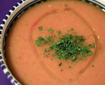 Суп-крем морковно-тыквенный