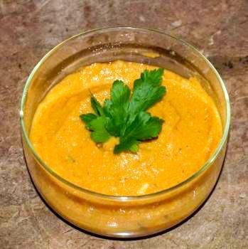Суп-крем с чечевицей