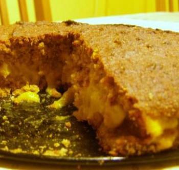 Тыквенный пирог с кремом